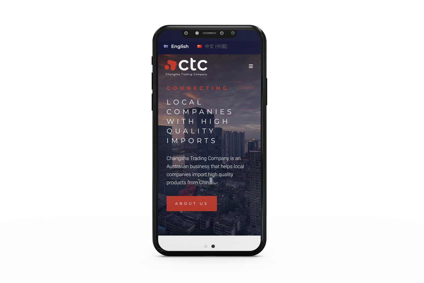 CTC Multilingual website