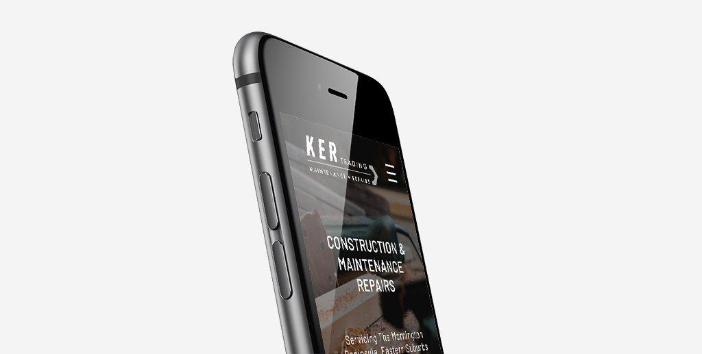 KER Trading mobile website 2