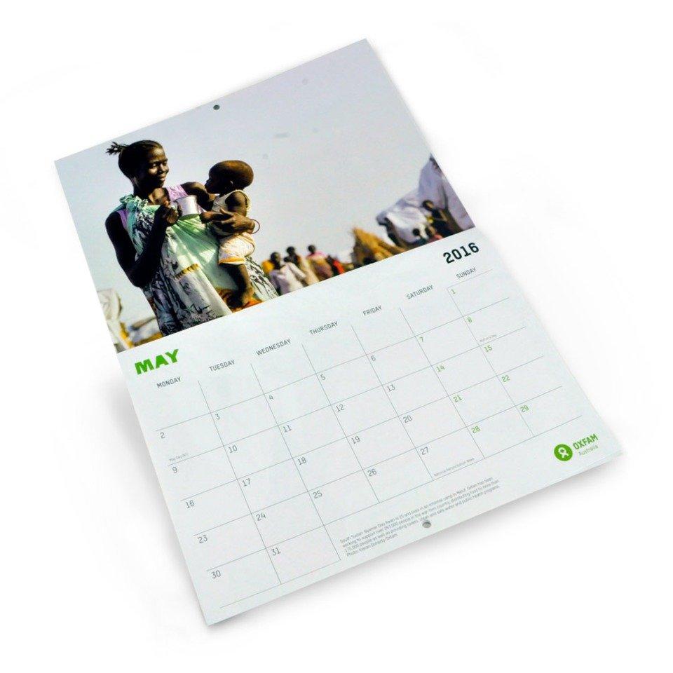 Oxfam Calendar 2